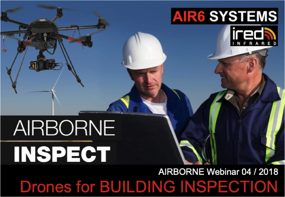 Webinar 04 / 2018: Drones for Building INSPECTION (EN)