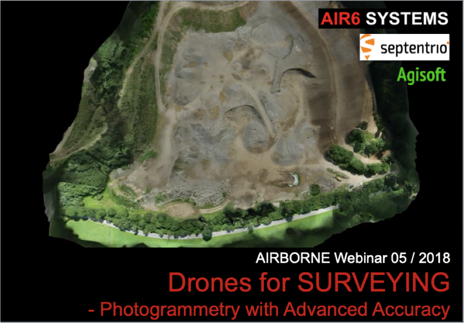 Webinar 05 / 2018: Drones for SURVEYING – Photogrammetry (EN)